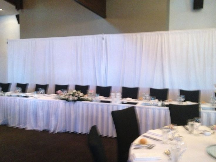 Frame your bridal table with one of our backdrops!