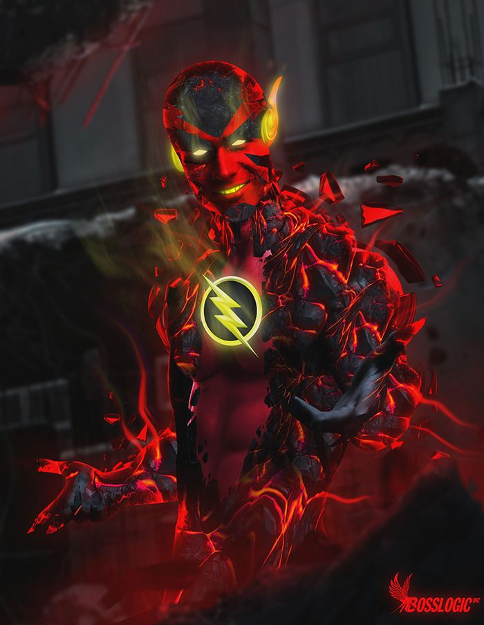 New 52 Reverse Flash by Bosslogic