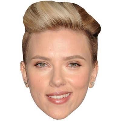 Scarlett Johansson Celebrity Mask Cardboard Face and Fancy Dress Mask ** You can get more details by clicking on the image.Note:It is affiliate link to Amazon.