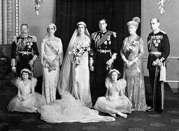wedding Princess Marina, Duchess of Kent