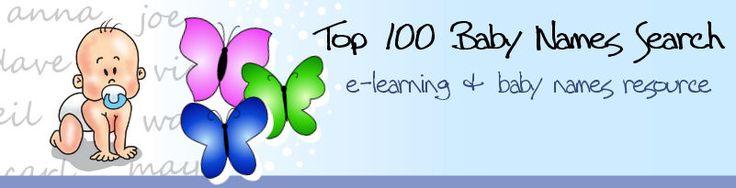 Top 100 Korean Baby Names Search