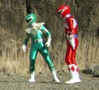 Power Rangers - LOL /SHRUG