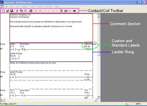 Free PLC Relay Ladder Logic Programming Software (with Simulator) for Entertron ePLCs
