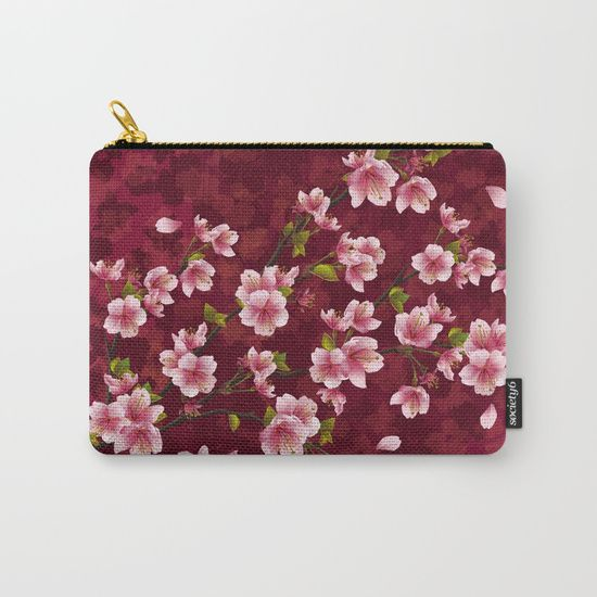 #cherryblossom #flowers #floral #spring Available in different #giftideas products. Check more at society6.com/julianarw
