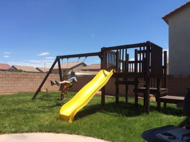 Get your kids playing outdoor by building a backyard swing set. Here's a collection of 34 free DIY swing set plans for you to get some ideas.