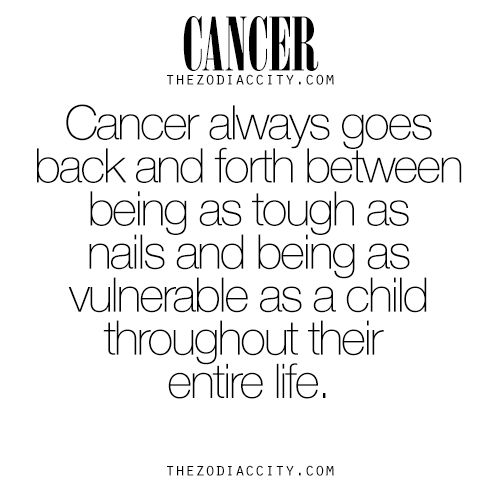 Zodiac Cancer Facts. For much more on the zodiac ...