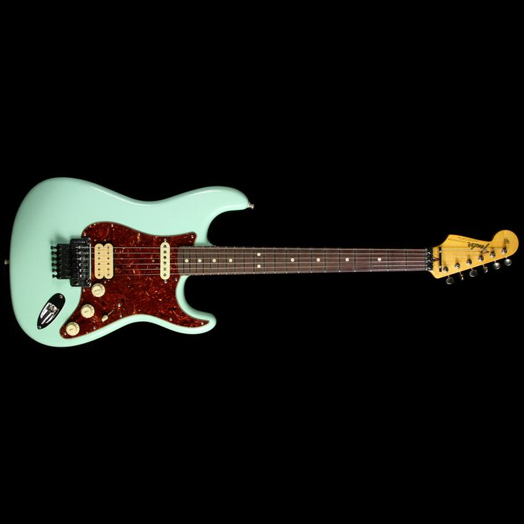 Fender Custom Shop Exclusive ZF Stratocaster Closet Classic Electric Guitar Faded Surf Green | The Music Zoo
