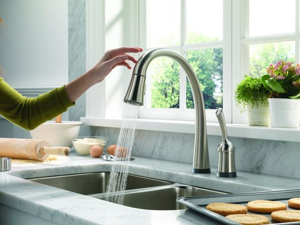 This Is Perfect I D Love To Install Some Penny Plumbing Heating And Air Conditioning In Ontario Ca Best Kitchen Faucets New Kitchen Kitchen Remodel