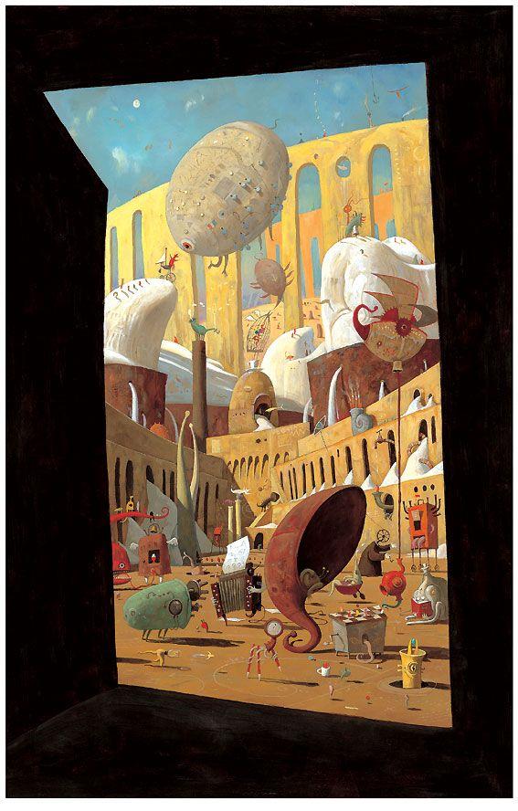 """Utopia"" - Shaun Tan"