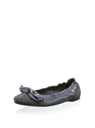 58% OFF Eli 1957 Kid's Ballet Flat with Bow (Gris)