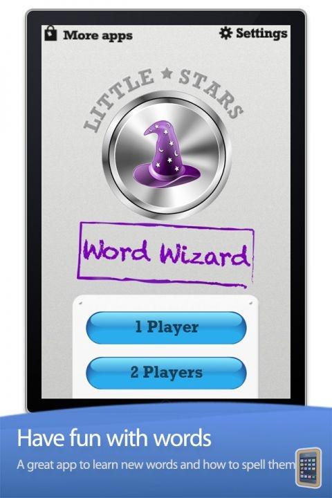 Little stars - word wizard. Her kan man spille to sammen om en ipad eller øve alene. Man lærer at stave ord og lærer nye ord. Man kan ændre appen og lave sine egne kategorier. Det er fedt, men til engelsk kan den bruges som den er eller man kan lade eleverne lave opgaver til hinanden.