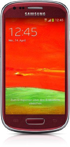 Samsung Korea I8200 S3 Mini Ve Unlocked Cell Phone - Retail Packaging - Red, 2015 Amazon Top Rated Unlocked Cell Phones #Wireless