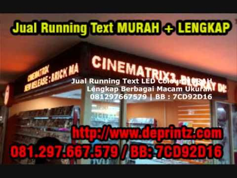 081297667579 Jual Papan Running Text Moving Sign Murah Pontianak,Semaran...