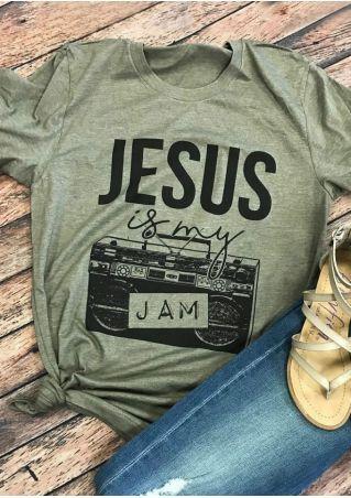 Jesus Is My Jam T-Shirt