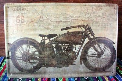 071381 европейский и америка винтажный мотоцикл модели металл живопись бар кафе украшение купить на AliExpress