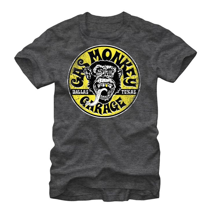 Gas Monkey Garage Logo Circle T-Shirt