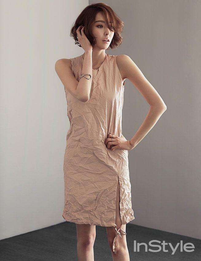 lee da hee in style | Lee Da Hee Korean Instyle fashion magazine