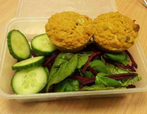 Slimming World Curry Loaf Muffins Recipe