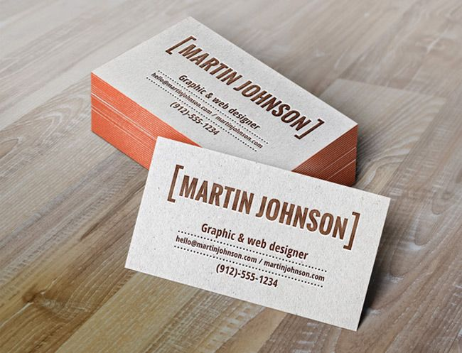 99 best mockups images on pinterest miniatures mockup and model a photorealistic psd business card mockup to present your business card design with the unique tactile feel of letterpress printing reheart Images
