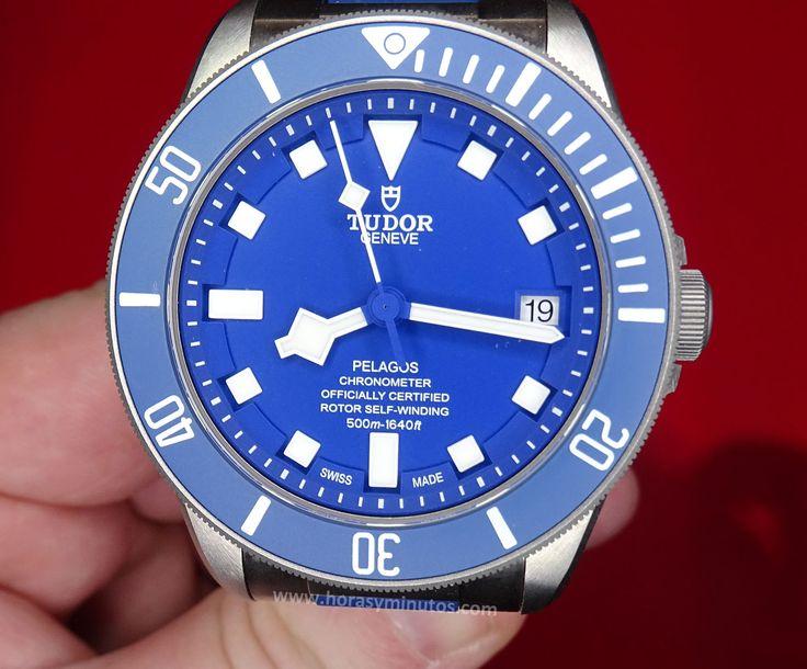 #Tudor Pelagos Azul
