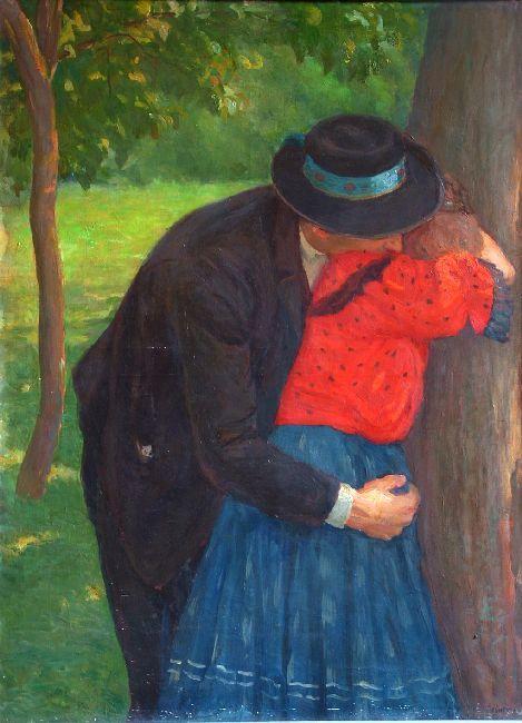 Lovers   Kunffy Lajos   Rippl - Rónai Megyei Hatókörű Városi Múzeum - Kaposvár   CC BY