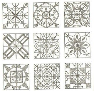 Textile Journaling: Old Embroidery Patterns
