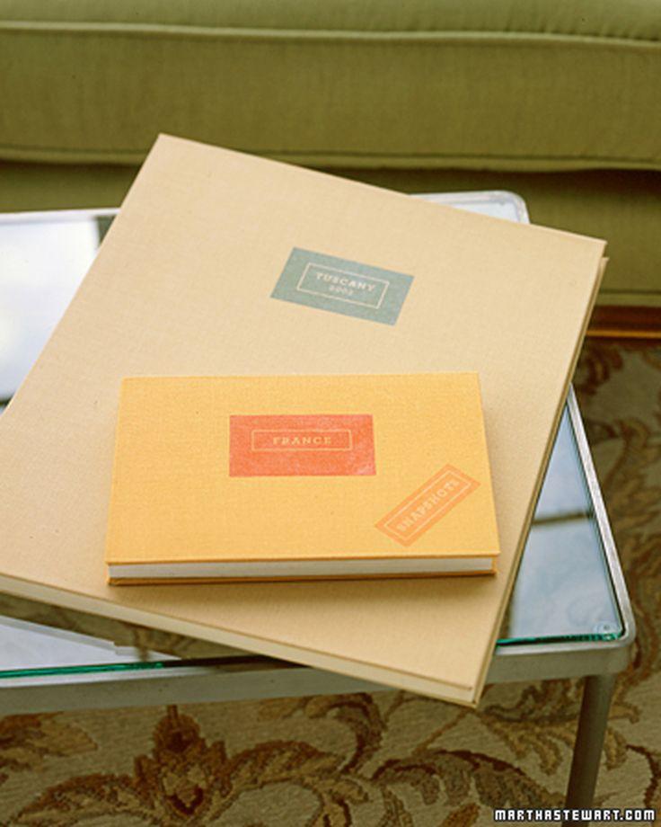 Custom Scrapbook Covers | Martha Stewart