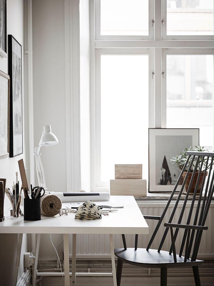 Scandinavian design desk