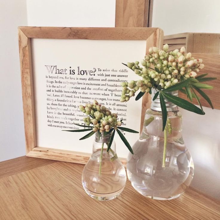 @rubywrendesigns 'What Is Love' with reclaimed wood frame #coulsonmacleod