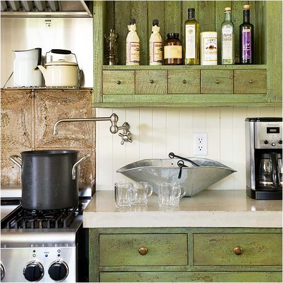 25 best ideas about english cottage kitchens on pinterest for Green country kitchen ideas