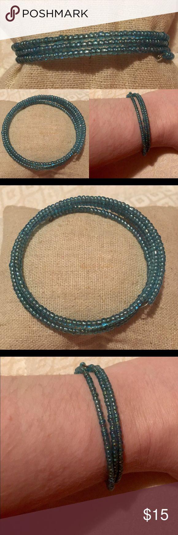 3 strand wrap bracelet Adjusts to fit most sized wrists Accessories Jewelry