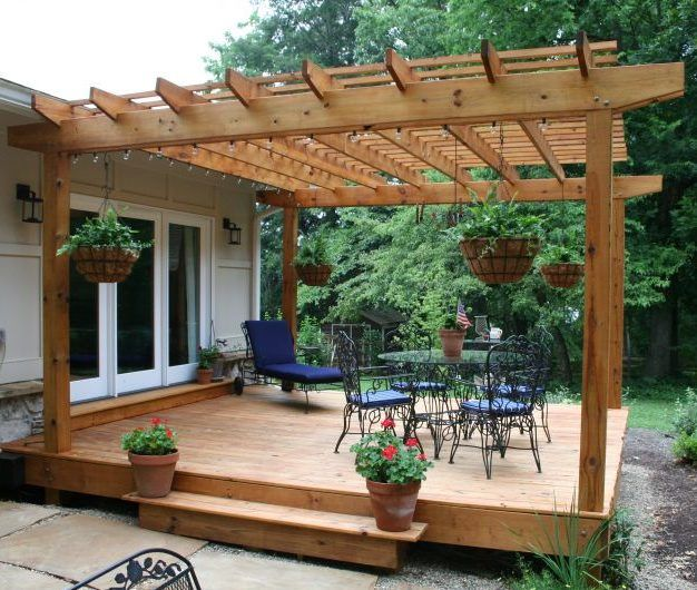 Ready to tackle a DIY project that will increase the value of your home? Consider giving your plain looking deck a dramatic new facelift. By adding a few extra touches, you can give your family's o…