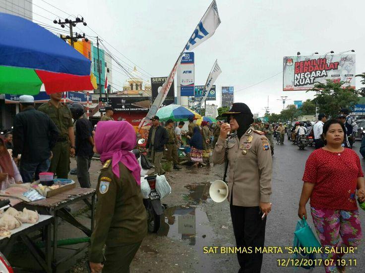 Operasi Yustisi Terpadu Dalam Penertiban PKL Di Kertak Hanyar