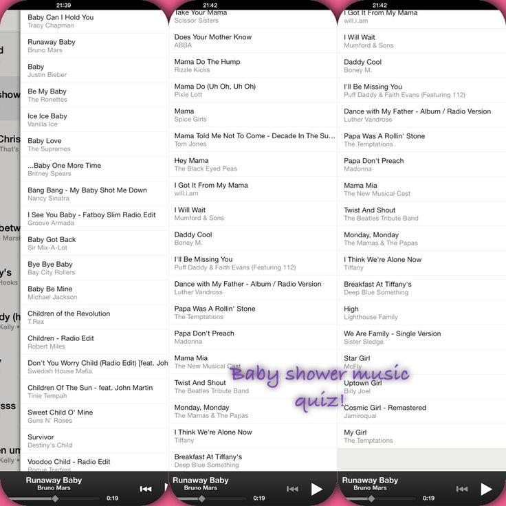 Create A Playlist With Songs Related To U0027babyu0027 And U0027familyu0027 Like The