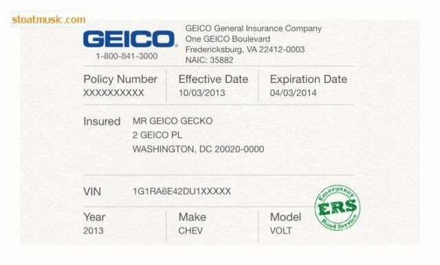Free Fake Auto Insurance Card Template Lovely Geico Insurance Card Template Free Download Aa Business Card Templates Download Card Templates Free Card Template