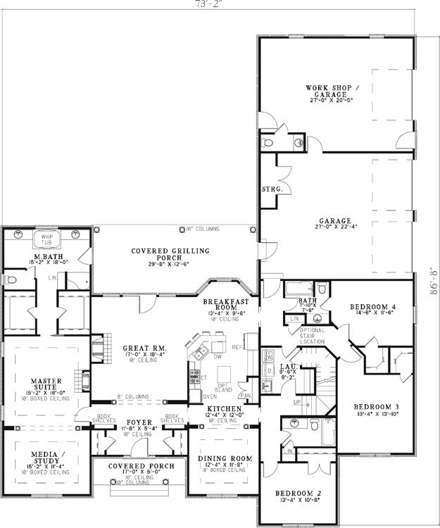 Top 17 ideas about dream home floor plans on pinterest for Luxury garage plans