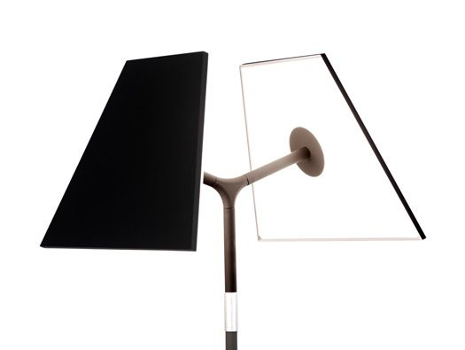 Symtra Lamp by Peter Stathis. I love the visual commentary of a deconstructed traditional lamp using LED technology.