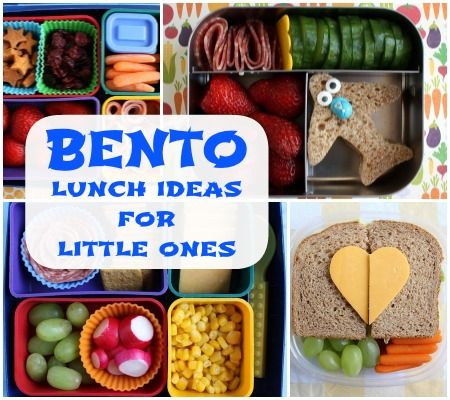 Bento Lunches for Babies & Toddlers