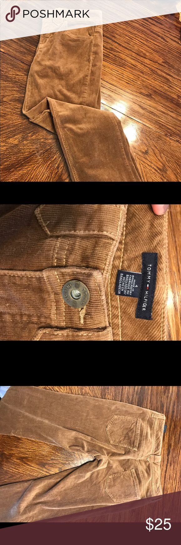 tommy hilfiger corduroy pants Trendy corduroy pants from Tommy Hilfiger. Look adorable with a Jean jacket. Tommy Hilfiger Pants Straight Leg