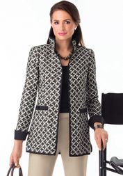 Nina McLemore, LLC - Suiting (This is the shape I'm after in a jacket)