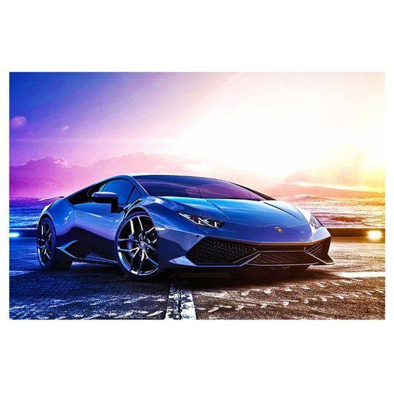 Lamborghini Aventador Sport Super Auto Poster Selbstklebend Wandtattoo Aufkleber Kunstwand Products Aufkleb In 2020 Car Posters Super Cars Lamborghini Aventador