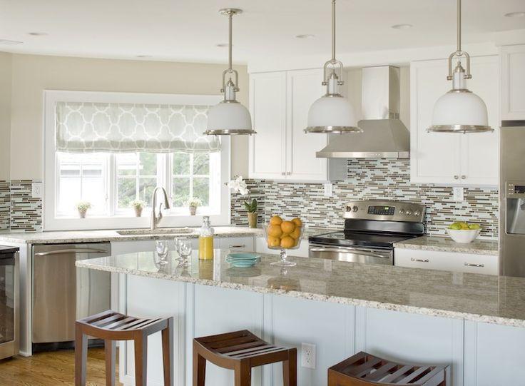 Erin Glennon Interiors - kitchens - white cabinets, light