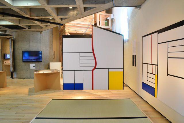 磯崎新「12×5=60」展 |〈モンドリアン茶室〉の再現