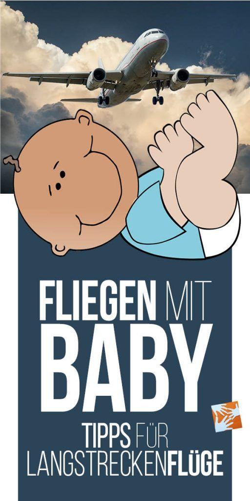 Fliegen mit Baby, Fliegen mit Kleinkind: Tipps für Langstreckenflüge.