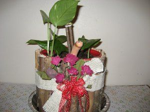 Recycle an old coffee container by turning it into this Coffee Jug Planter from Susan Hamilton.  This upcycled craft is perfect for Earth Day or Labor Day and is a fun way to reuse items you probably have around the house already.  So pour yourself a big cup of coffee and get right to making this cute garden craft!