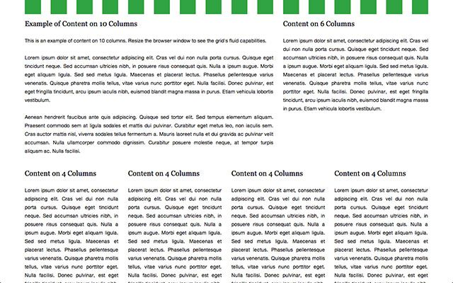 Inspired by the 12 column 1140px grid system by Andy Taylor, the 16 columns 1140px CSS grid system uses the same fluid principle, but is served on 16 columns with thinner gutters to serve websites where such a layout fits better and to be more compatible with the classic 960px grid system. It fits perfectly on a 1280 pixel wide monitor and adapts to the screen's width on smaller displays …
