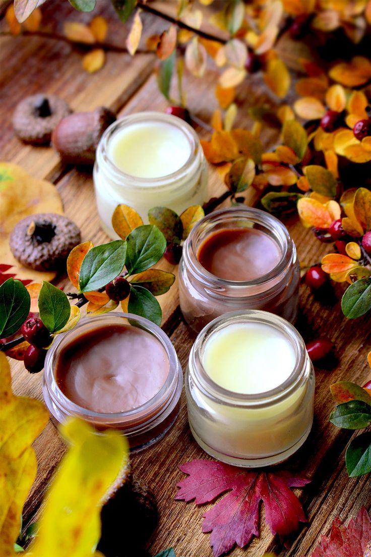 Natural lip balms / honey / chocolate / diy / natural cosmetics recipes / Lili Natura – Kreatywnie i inspirująco z nutą natury