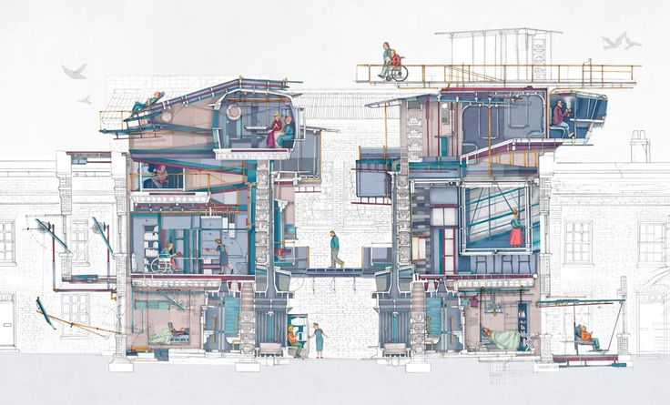 Young Architect Guide: 5 Ways to Tell Your Story Through Drawings Alone - Architizer