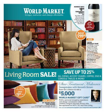 World Market - love it!