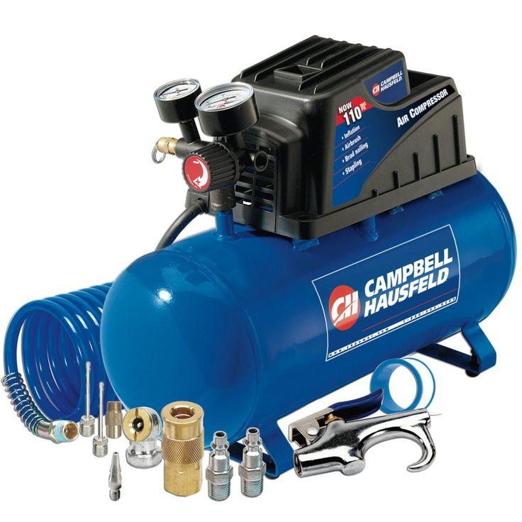Campbell Hausfeld FP209499 3 Gallon Portable Compressor Review